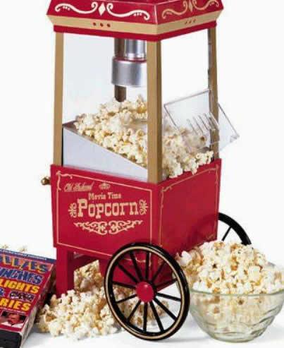 popcorn,patlamış mısır arabası